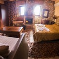 Junior suite with lake view - Valia Calda (2 adults, 2 children)