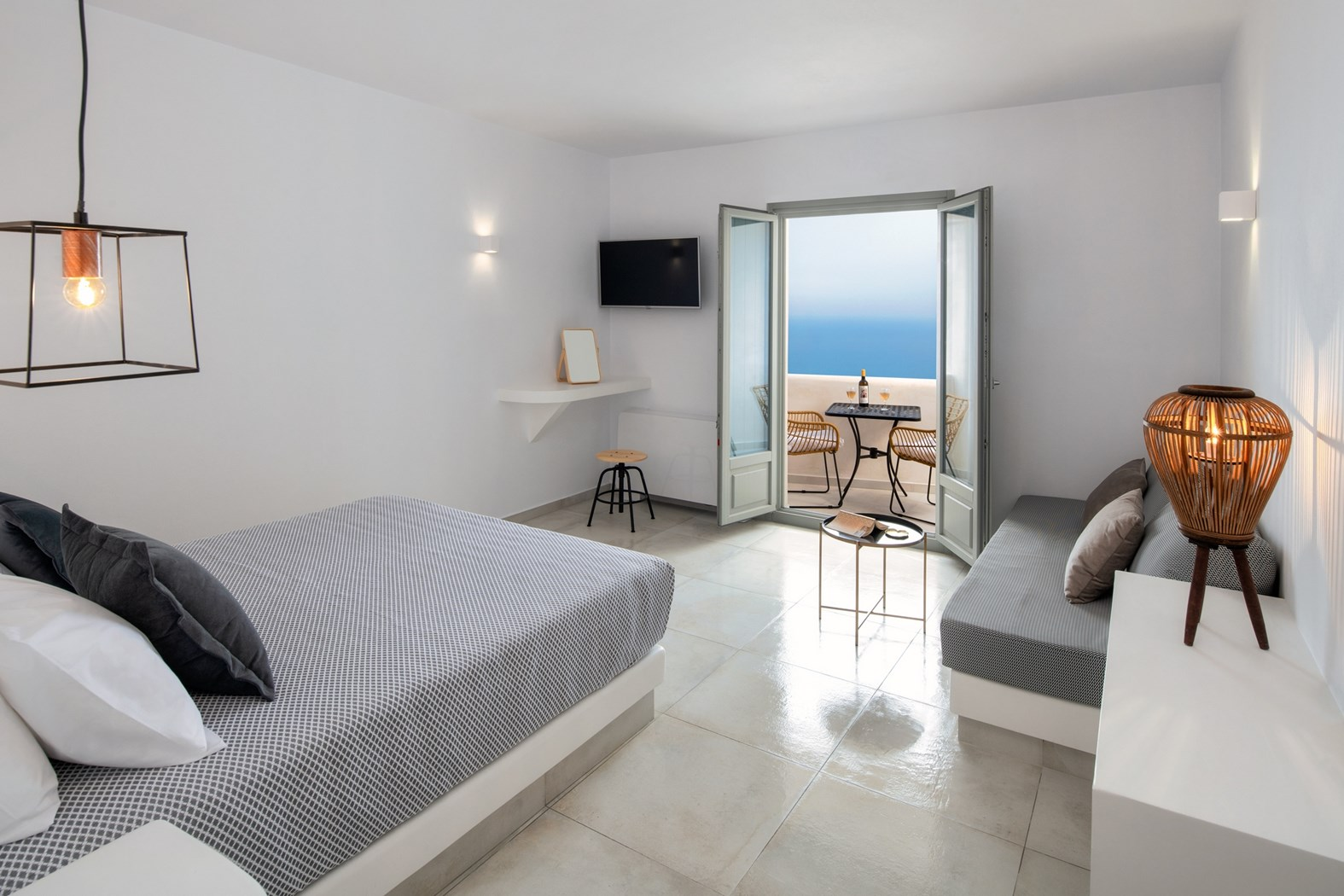 Junior Suite with Sea View - Ammos (2-3 persons)