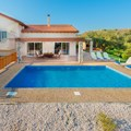 Pool view, BBQ area