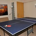 Ping pong room with 1 single bed