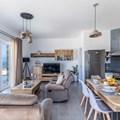 Sitting area and kitchen (ground floor)
