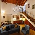 Villa Ismini living room