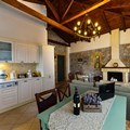 Villa Nefeli kitchen-dining room