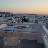 Lefteris Hotel roof terrace
