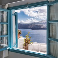 Family apartment with Caldera view (4 persons)